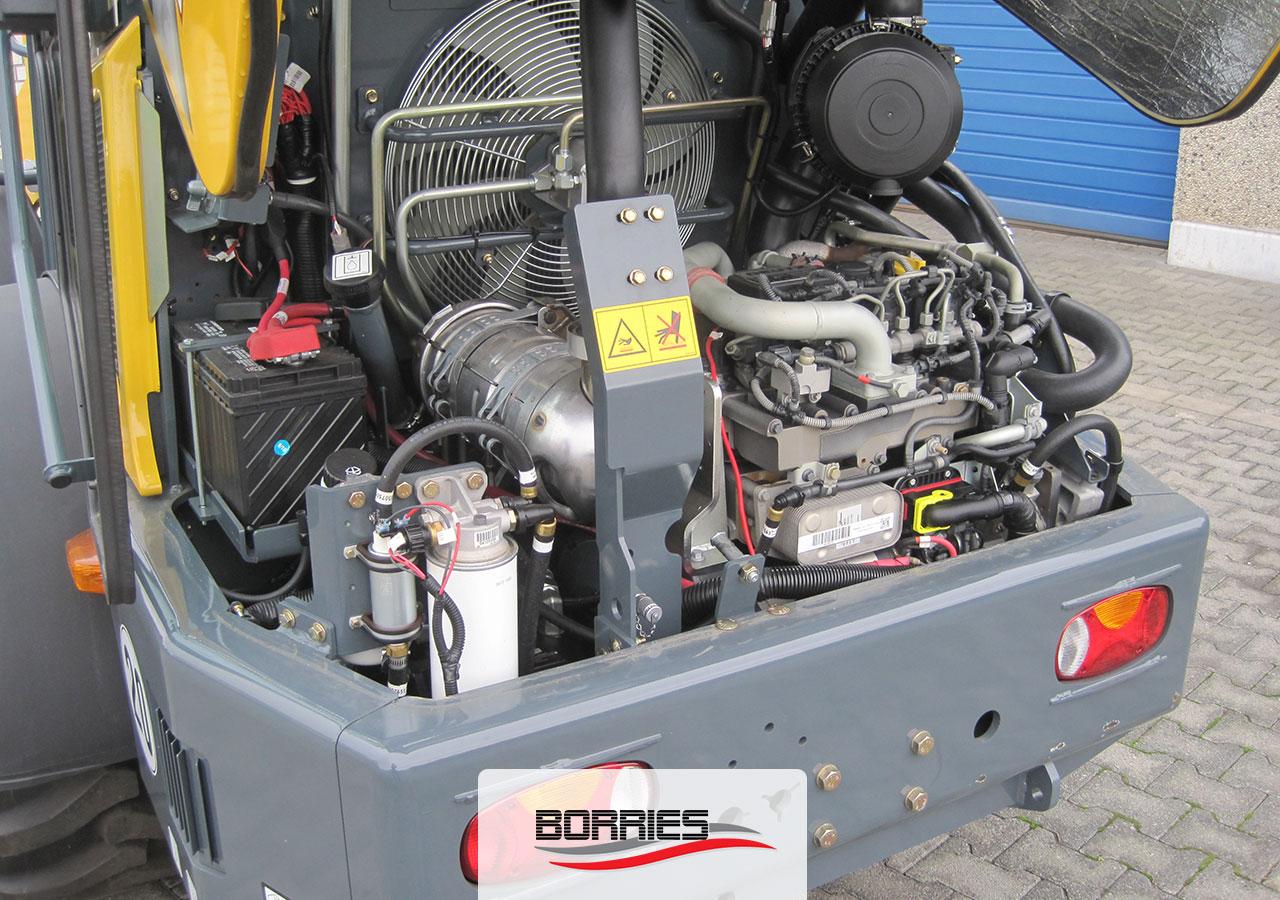 Mustang-Knicklader-AL-608-Motor